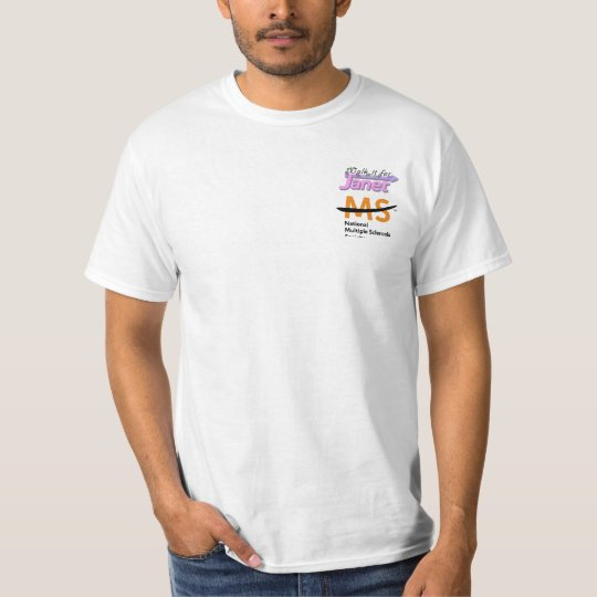 Walk it for Janet pocket T T-Shirt