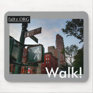 Walk! Mouse Pad