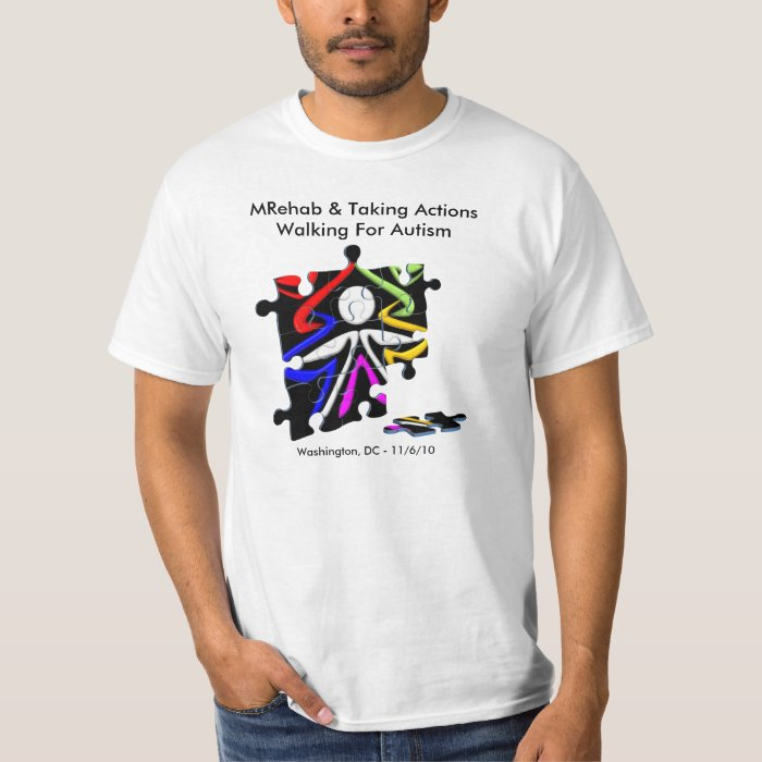 Walk Now For Autism Speaks T-Shirt