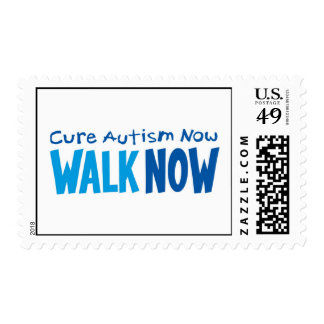 WALK NOW LOGO POSTAGE