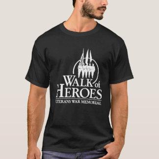 Walk of Heroes Veterans War Memorial T-Shirt