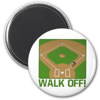 Walk Off Fridge Magnet