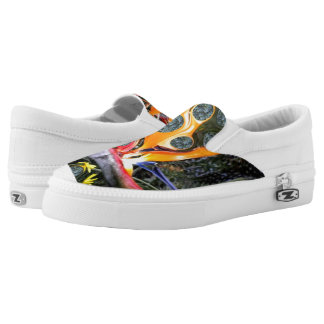 Walk on Fire Slip-On Sneakers
