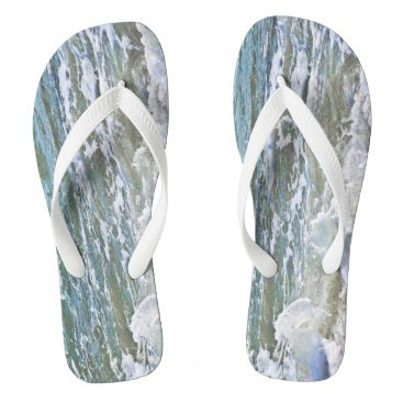 Beach Themed Walk on the beach flip flops