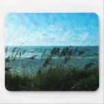 Walk On The Beach Mouse Pad