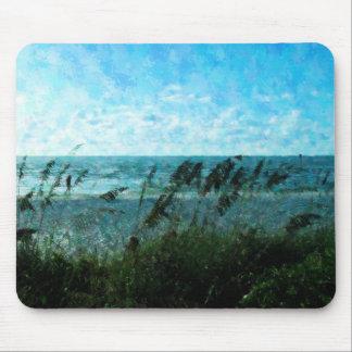 Walk On The Beach Mousepads