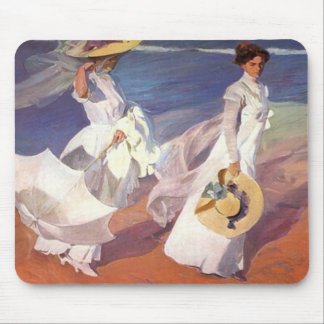 Walk on the Beach Mousepad