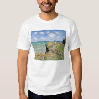 Walk on the Cliff at Pourville - Claude Monet Dresses