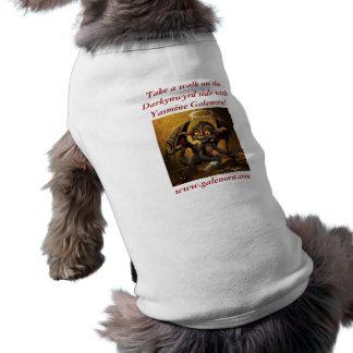 Walk on the Darkynwyrd Side Pet Tshirt