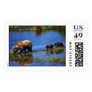 Walk on the Wild Side - Bears Postage