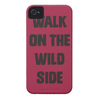 Walk on the wild side iPhone 4 cover