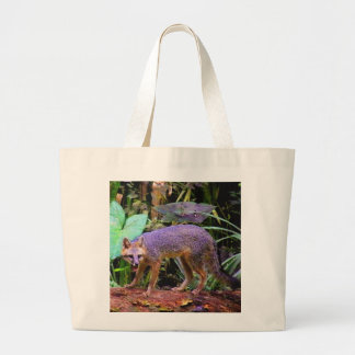 WALK ON THE WILD SIDE LARGE TOTE BAG