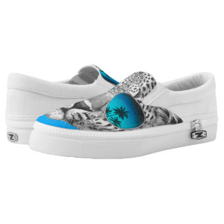 Walk on the wild side slip on shoes