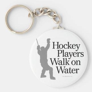 Walk On Water Basic Round Button Keychain