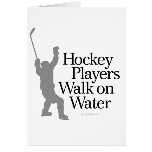 Walk On Water Greeting Cards