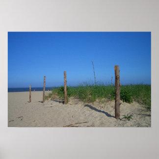 Walk onto Beach Poster