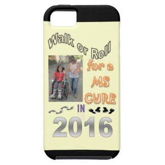 WALK OR ROLL MS CURE iPhone SE/5/5s CASE
