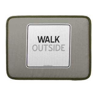 WALK OUTSIDE SLEEVE FOR MacBooks