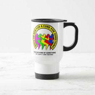 Walk Run For The Cure Funny Travel Mug Humor