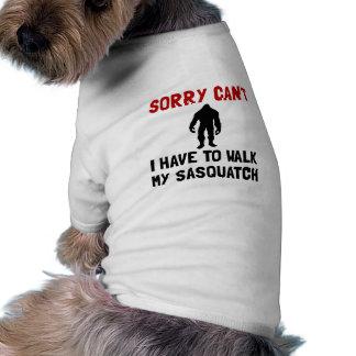 Walk Sasquatch Doggie Tee