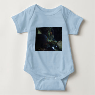 Walk Softly and Carry a Big Fish Baby Bodysuit
