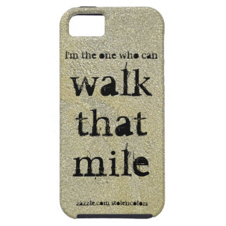 Walk That Mile iPhone 5 Cases