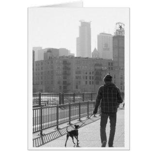 Walk the Dog Card