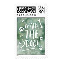 walk the dog postage