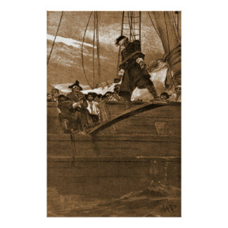 Walk the Plank 1887 Poster