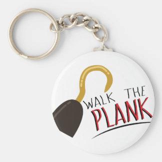 Walk The Plank Basic Round Button Keychain