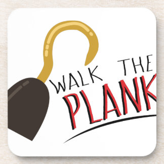 Walk The Plank Beverage Coaster
