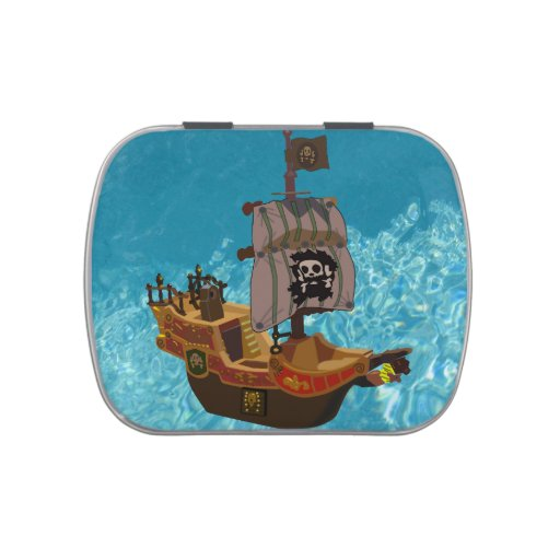 Walk the Plank Jelly Belly Candy Tin