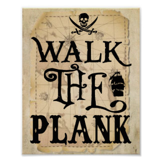Walk the Plank Poster