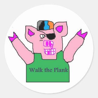 walk the plank stickers