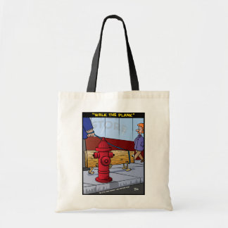 """""""Walk The Plank"""" Tote Bag"""