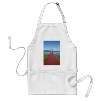 Walk the planks of NH Adult Apron