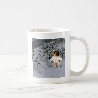 walk the talk. classic white coffee mug