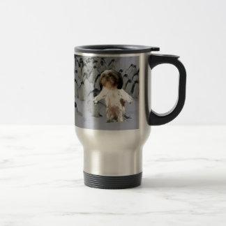 walk the talk. travel mug