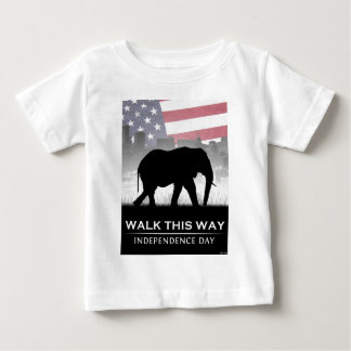 Walk This Way Baby T-Shirt