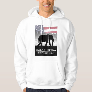Walk This Way Hooded Sweatshirt