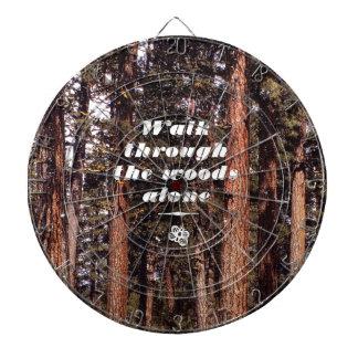 Walk Through the Woods Alone Dartboards