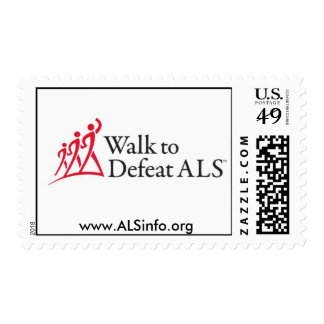 Walk to Defeat ALS Postage Stamps