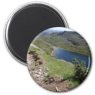 Walk To Snowdon The Highest Mountain In England An 2 Inch Round Magnet