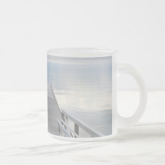 Walk to the Lake Frosted Glass Coffee Mug