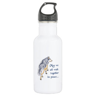 WALK TOGETHER IN PEACE 18OZ WATER BOTTLE