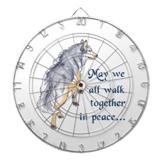 WALK TOGETHER IN PEACE DART BOARDS