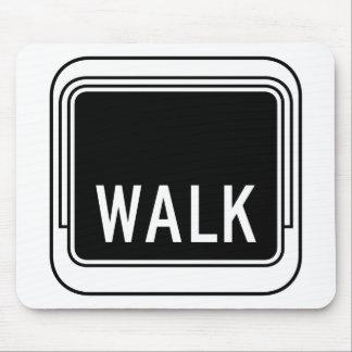 Walk, Traffic Sign, USA Mousepads