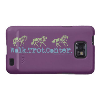 Walk Trot Canter Horses Samsung Galaxy S2 Cover