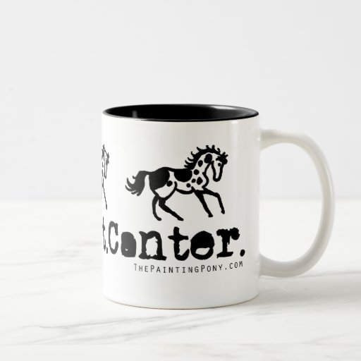 Walk Trot Canter Horses Coffee Mug
