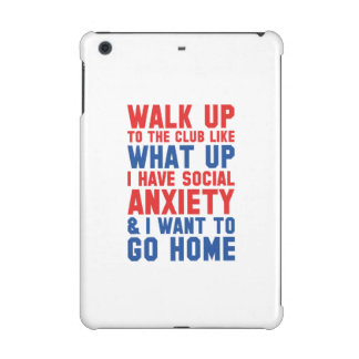Walk Up To The Club iPad Mini Retina Covers